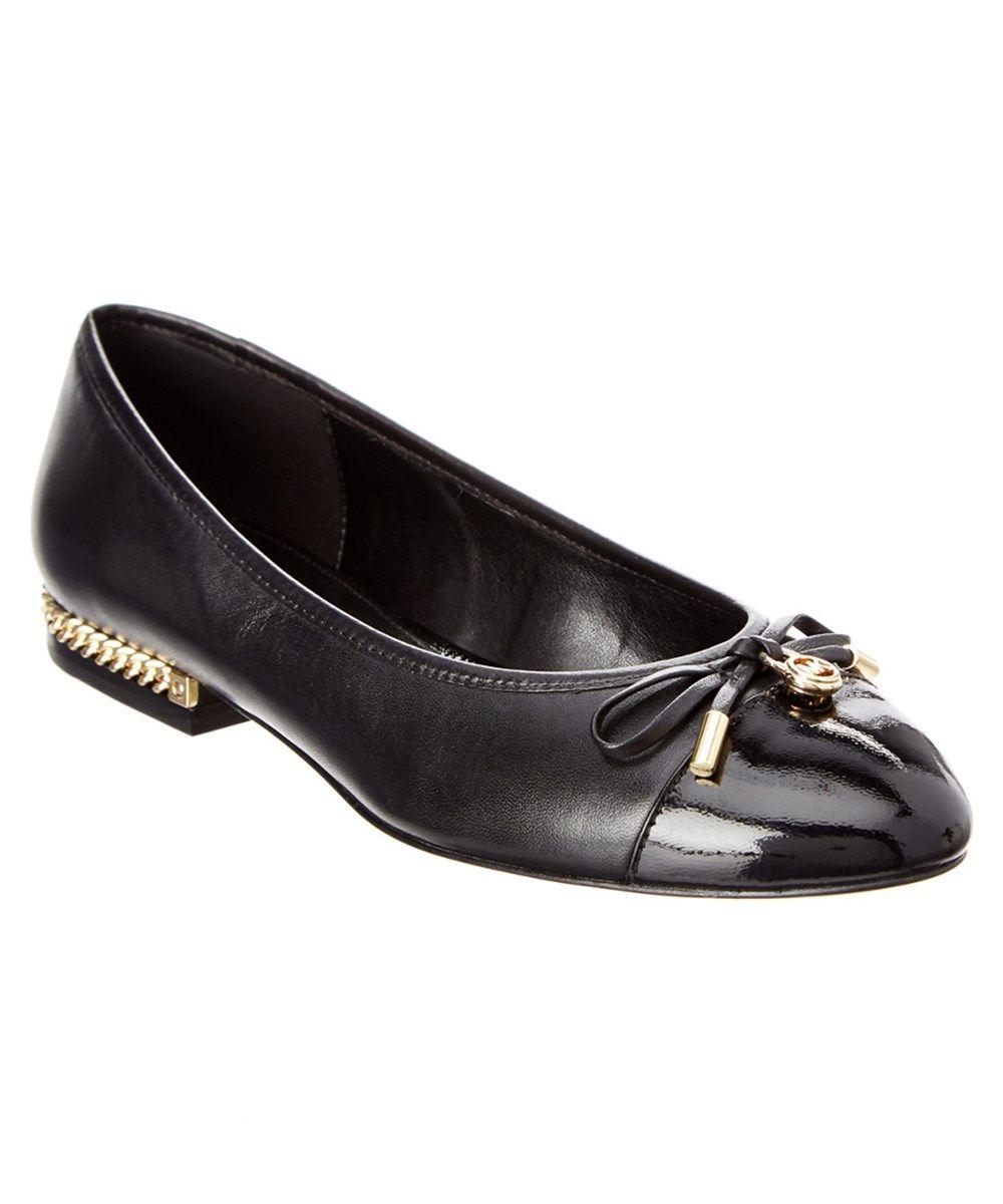 5fbfb1153c3 MICHAEL KORS Michael Michael Kors Denise Leather Ballet Flat.  michaelkors   shoes