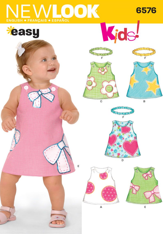 Aline jumper pattern simplicity new look kids patterns