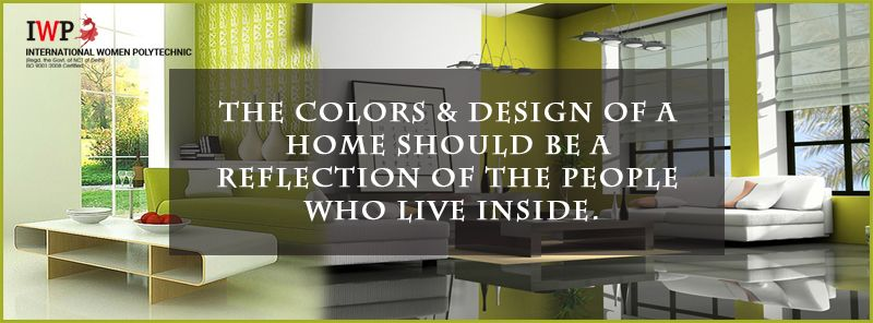 The colors  design of  home should be reflection people who live inside http iwpindiaonline interior designing institutep also rh in pinterest