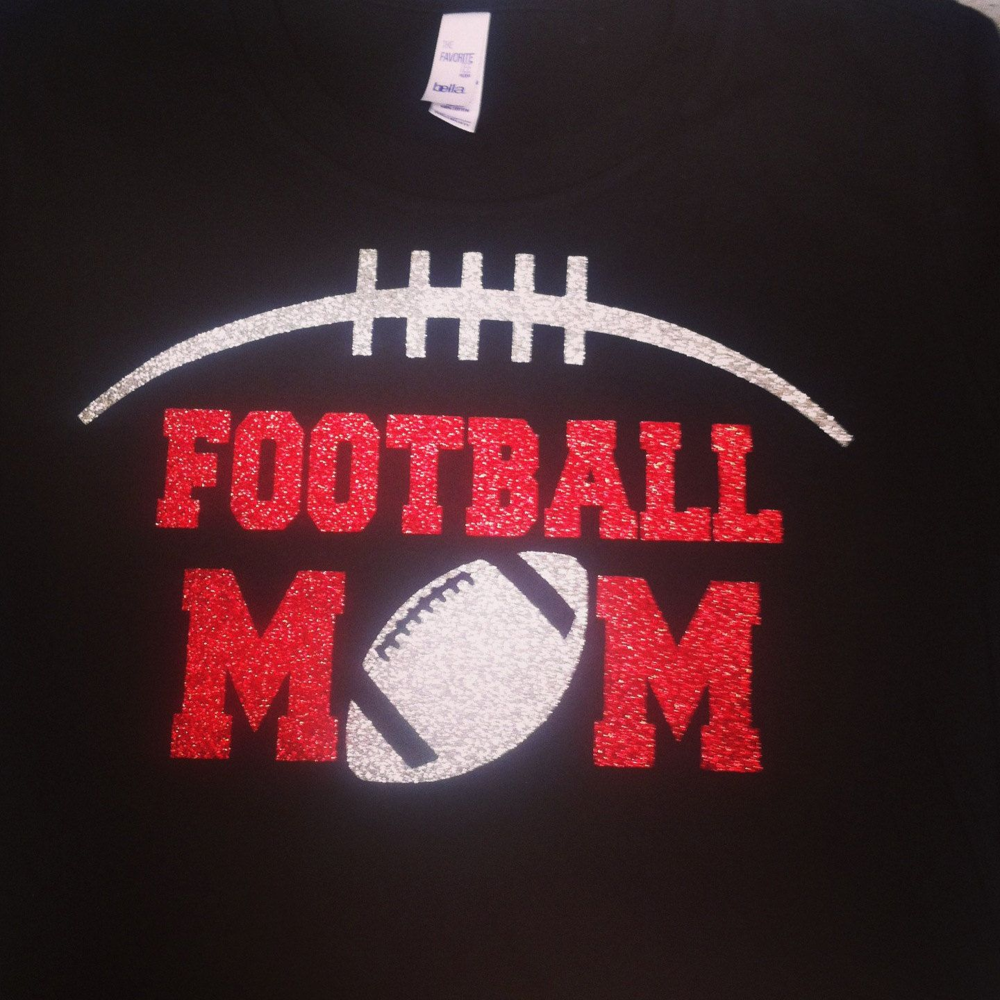 Custom Football Shirt Football Mom By Rocknmamadesigns On