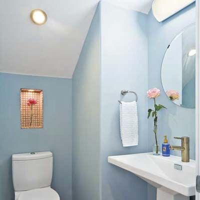 How to Plan the Perfect Half Bath Half baths Bath and Storage