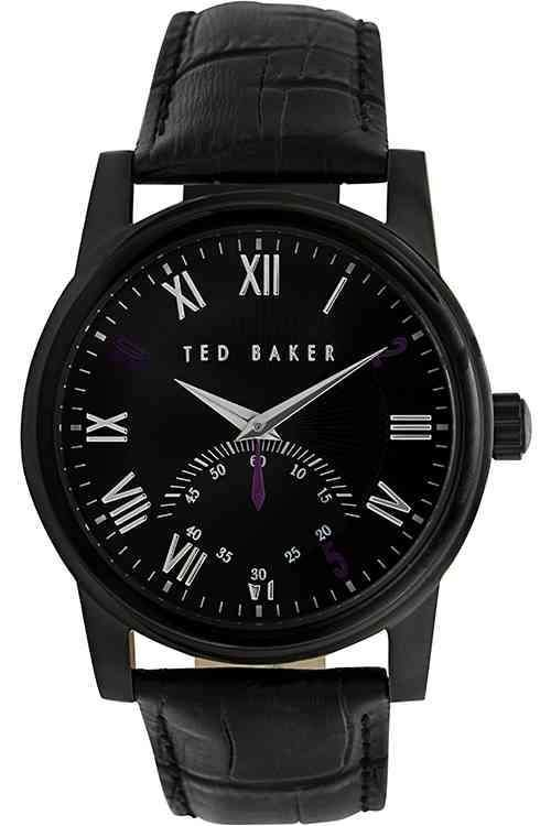 bac721c6b9180 Ted Baker Gent s Black Leather Strap Watch TE1083   Relojes y Wish ...