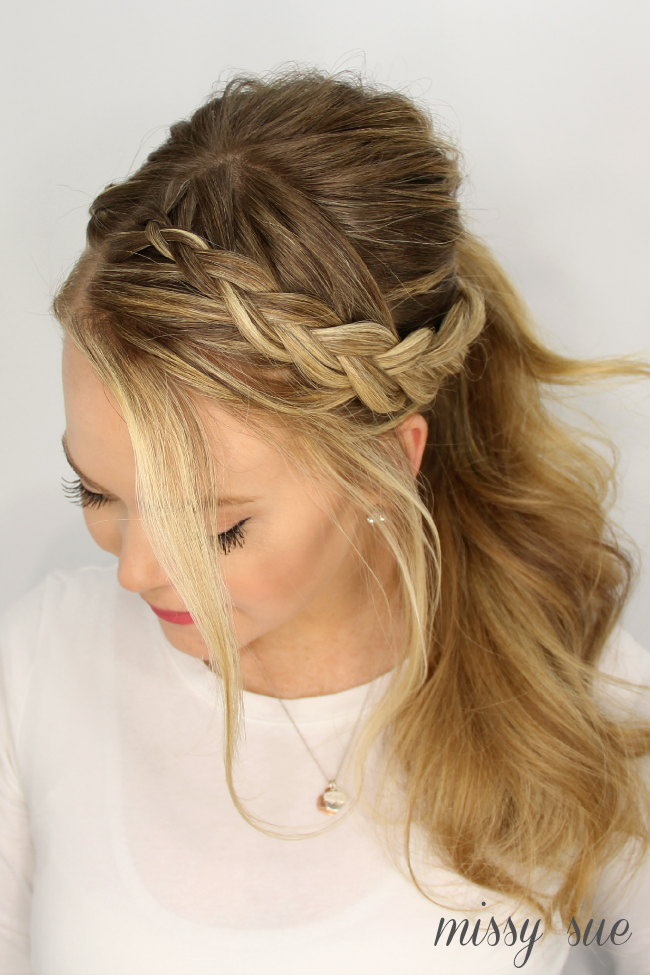 3 Easy Summer Hairstyles Womens World Hair Styles Hair Easy