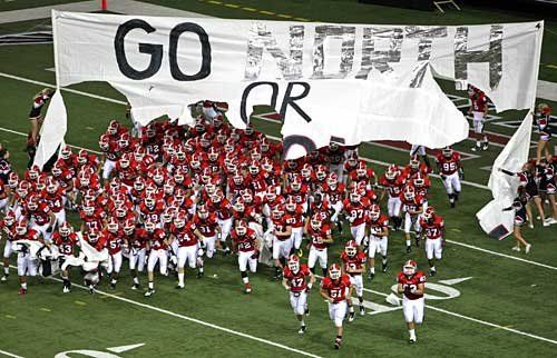 North Gwinnett High School Football! North Gwinnett is a nationally recognized high school for academics and our football time is headed to the State 6AAAAAA semi-finals. GO DAWGS!!