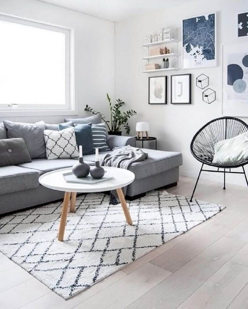 Make Your Small Room on Cramped Living Room to Enjoyable Place. images