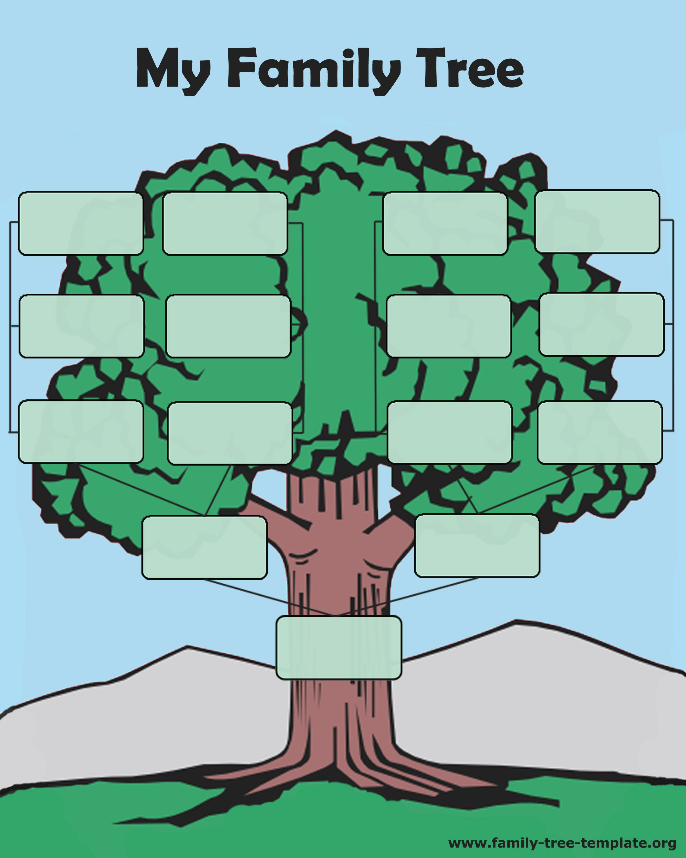 medium resolution of tree forms to print and fill out another printable oak tree chart