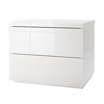 chevet blanc table de chevet blanche