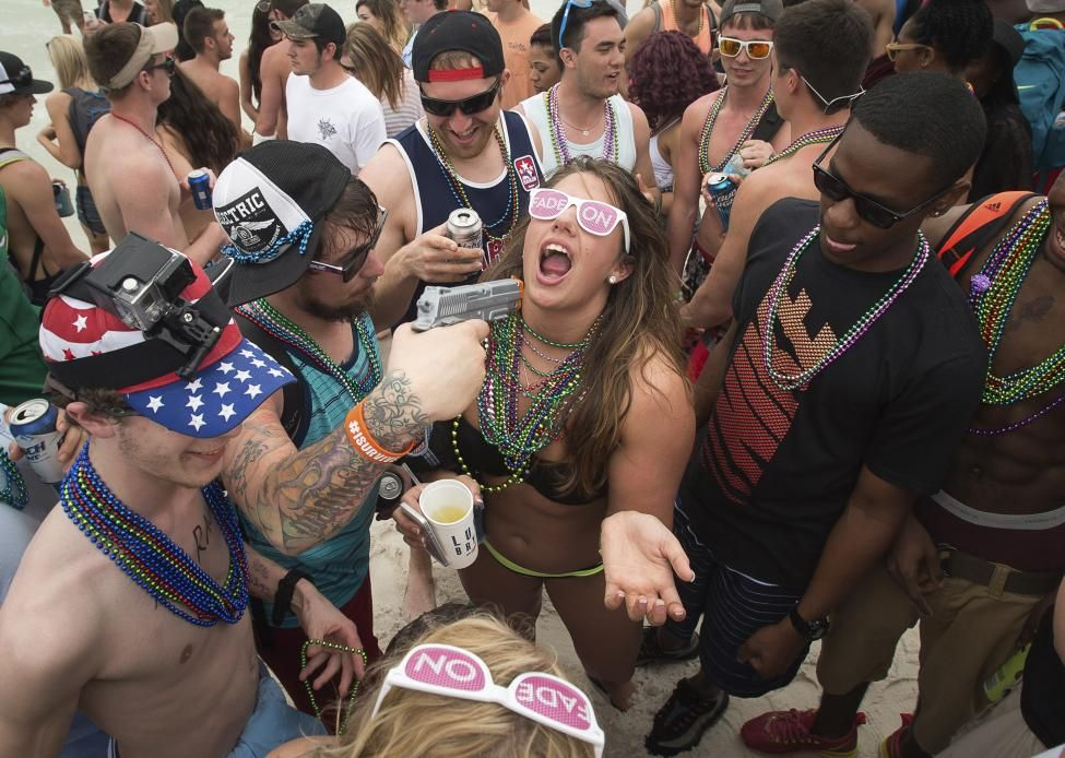 Hitstars I Love Drunk Sex Pink T Shirt