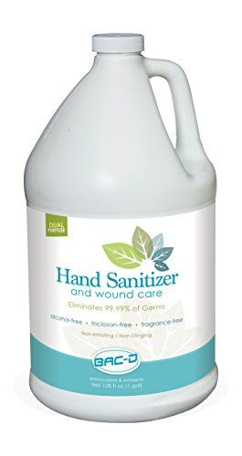 Bacd 630 Hand Sanitizer And Wound Care 1 Gal Refill 128 Oz Pack Of