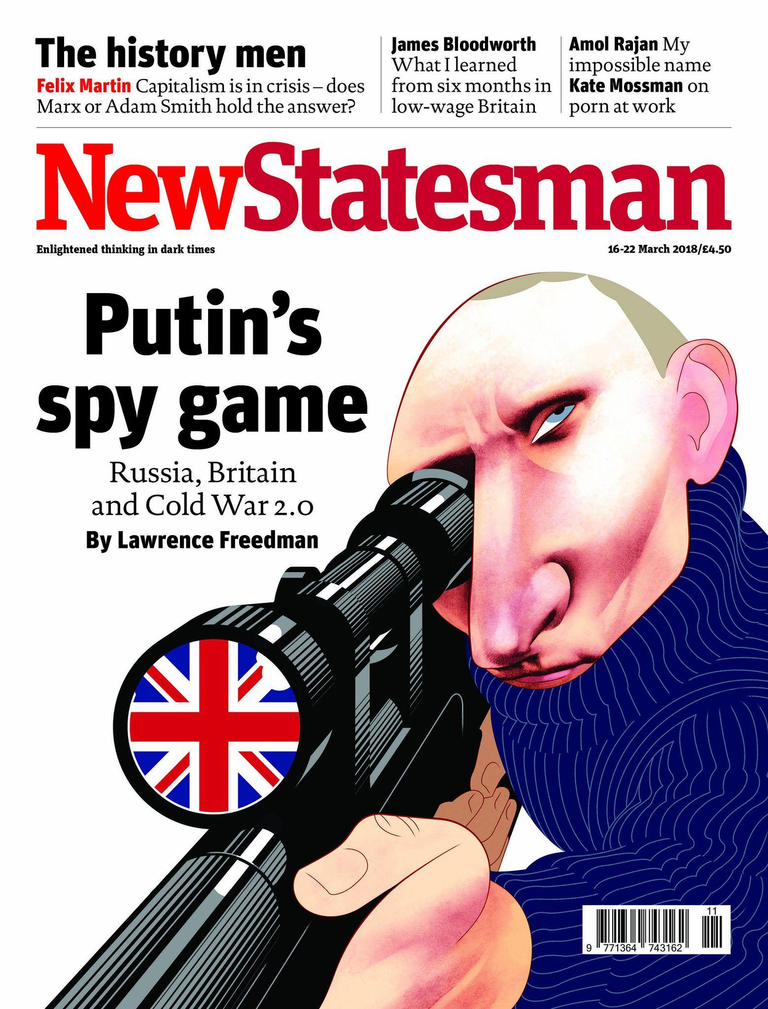Putin S Spy Game Political Caricature Cold War Propaganda Spy