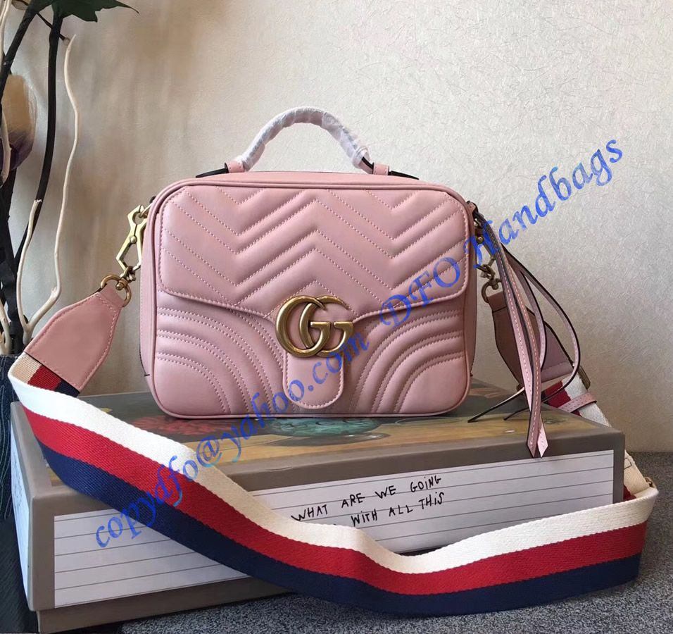 6c1d727600b Purchase online a Gucci GG Marmont small Pink shoulder bag at discounted  price- USD 380