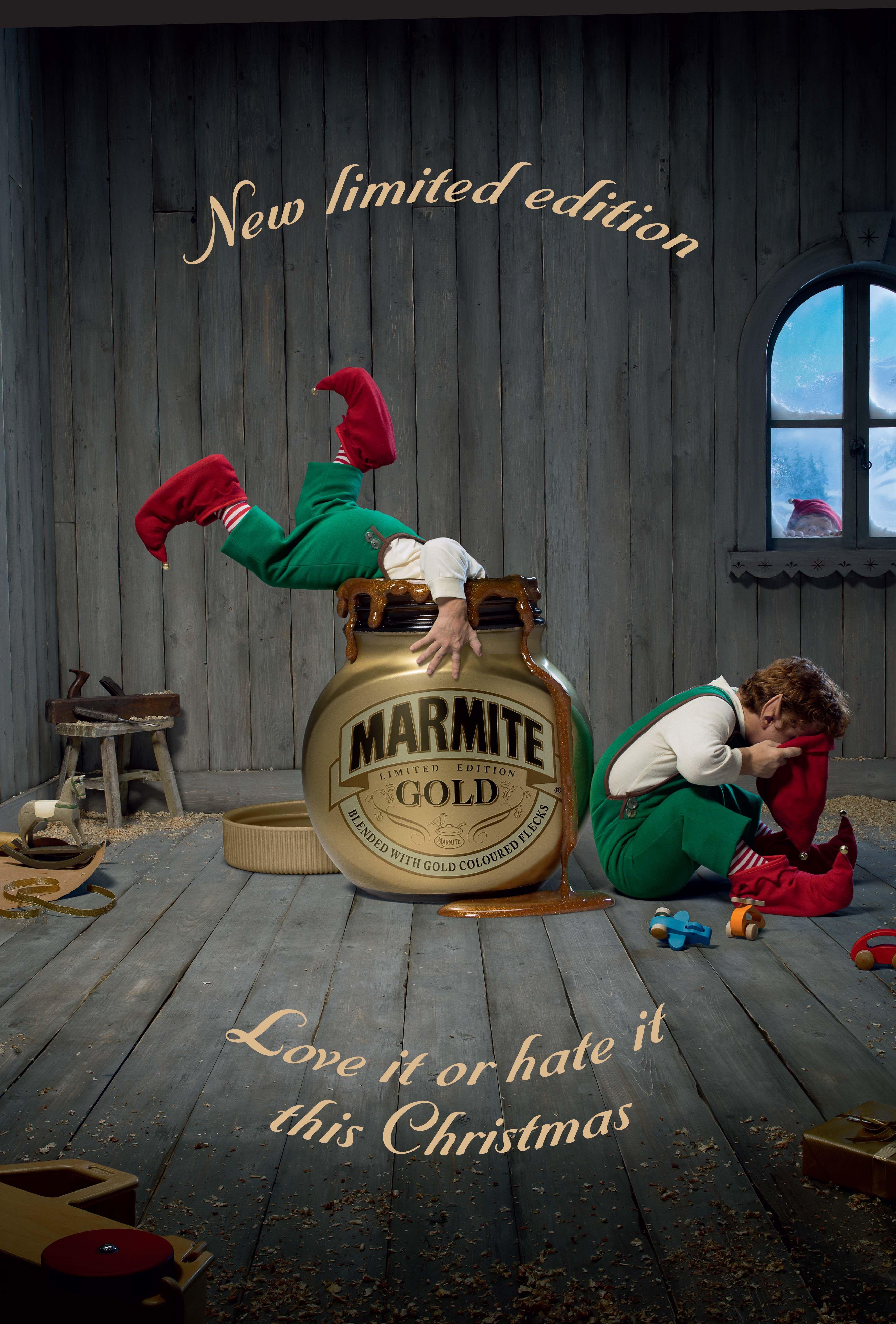 Limited edition Marmite from Adam & Eve DDB London.