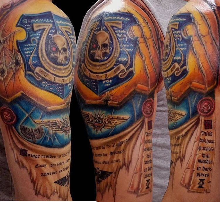 ultramarines 2nd company champion tattoo warhammer 40k gundam pinterest champion tattoo. Black Bedroom Furniture Sets. Home Design Ideas