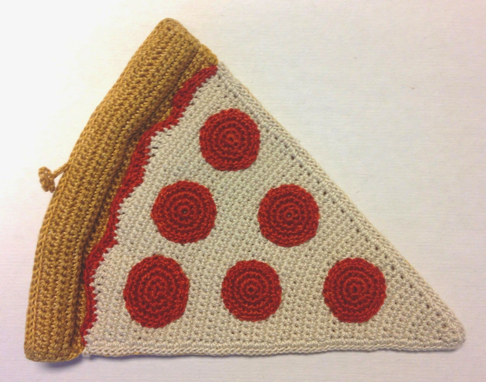Monster Crochet: Pizza by the slice for you - NEW PATTERN AVAILABLE ...
