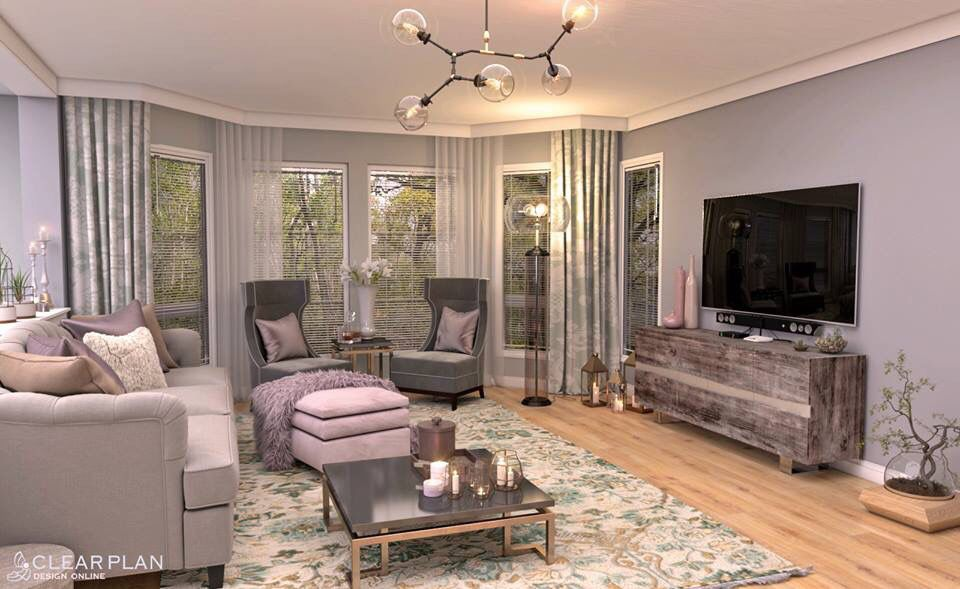 Virtual staging for a house in Vancouver by our studio ...