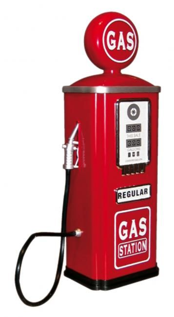 gas station | Vintage gas station's | Old gas pumps, Gas