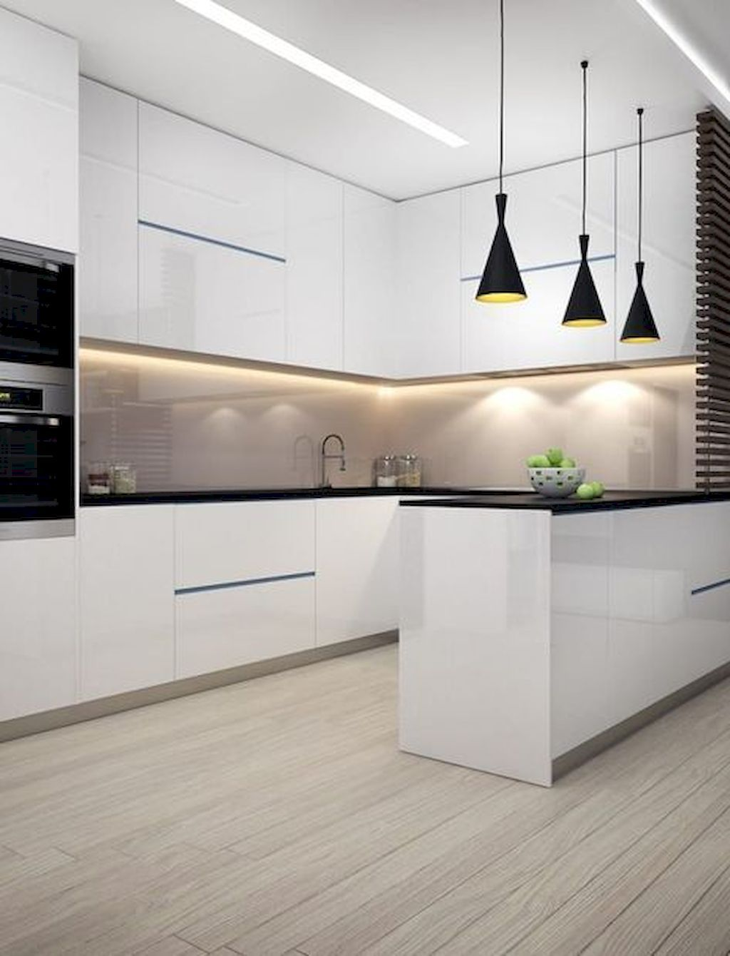 Ideas for making a Trendy Small Dimension Minimalist Kitchen - Homemidi