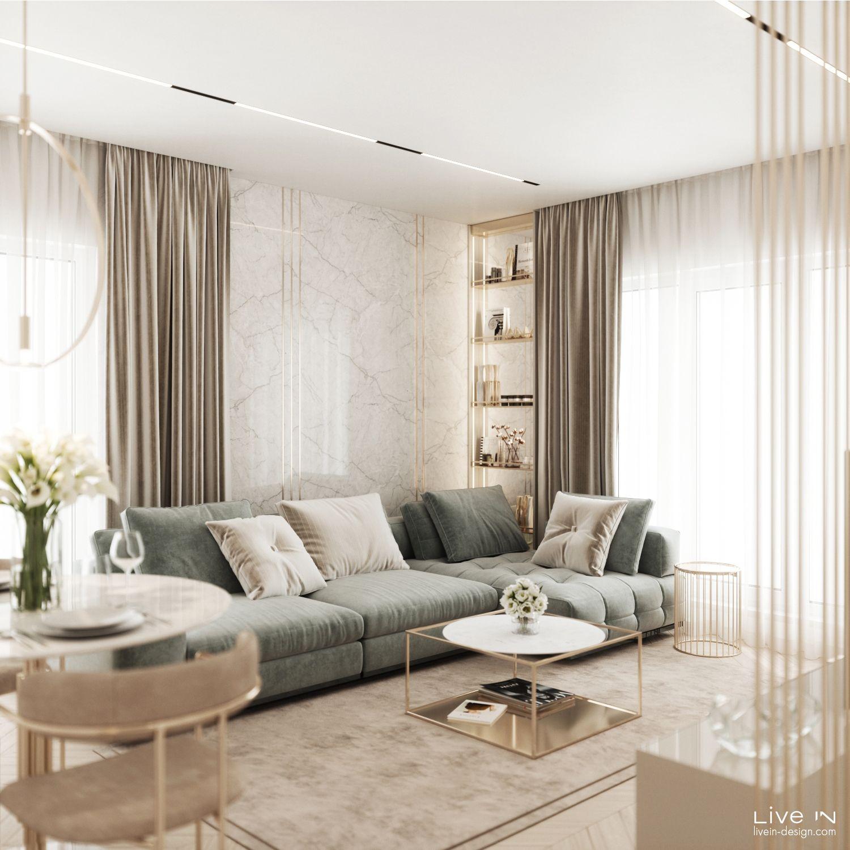 Ggorgeous Apartment Living Room Decor Apartment Modern Classic Living Room Living Room Design Decor