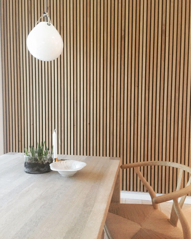 Akupanel   Rustik Egefiner Natur   WoodUpp   Wood panel walls ...