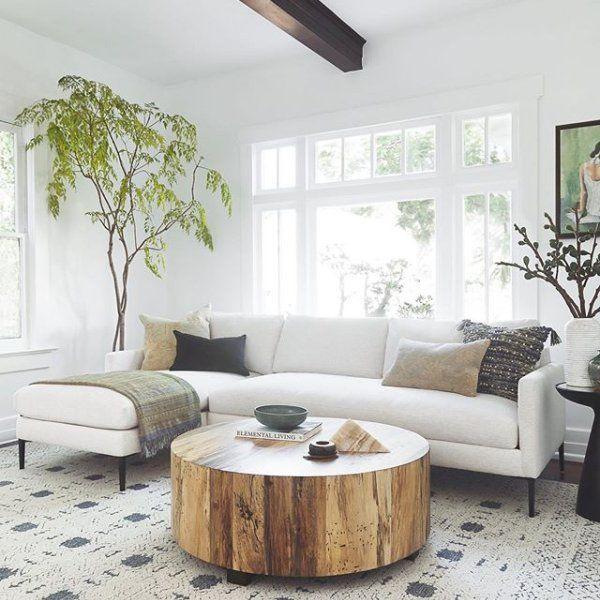 Boni Round Coffee Table Boho Living Room Apartment Living Room Living Room Inspo