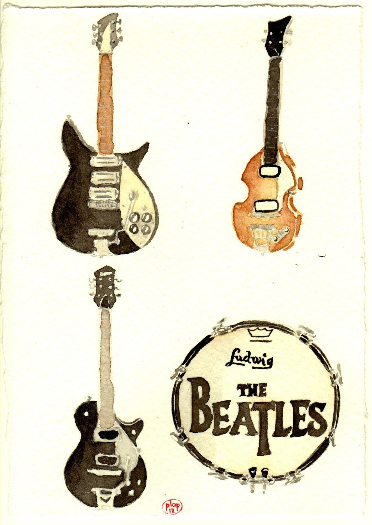 Beatles Guitars: Their Fab Four Instruments