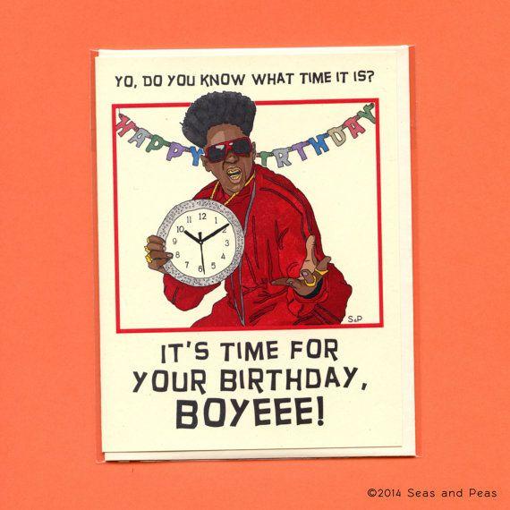 FLAVOR FLAV BIRTHDAY Funny Birthday Card Flavor By