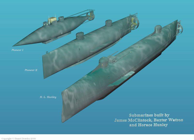 the hunley submarine civil war - Google Search | Civiil ...