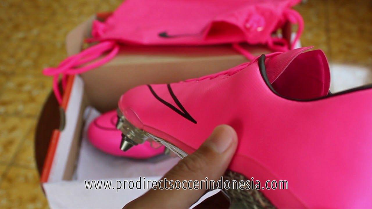 Sepatu Bola Nike Mercurial Vapor X Sg Hyperpink 648554 661