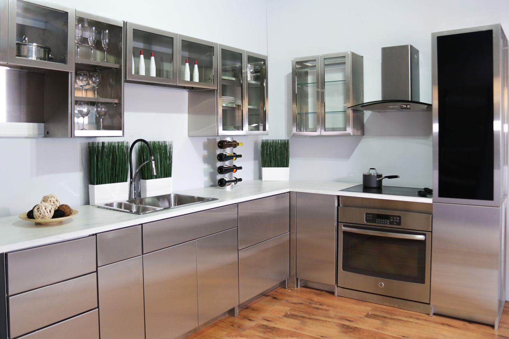 Stainless Steel Kitchen Cabinets Aluminum Kitchen Cabinets Stainless Steel Kitchen Cabinets Steel Kitchen Cabinets