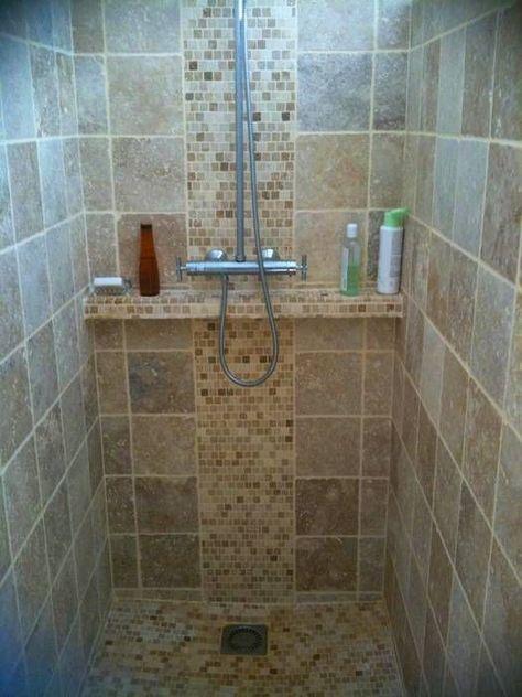 Carrelage de douches pose de carrelage douche italienne Travertin