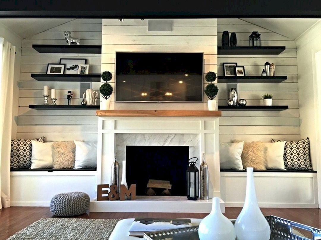Photo of 25+ Awesome Fireplace Seating Ideas For Family Room Design / FresHOUZ.com