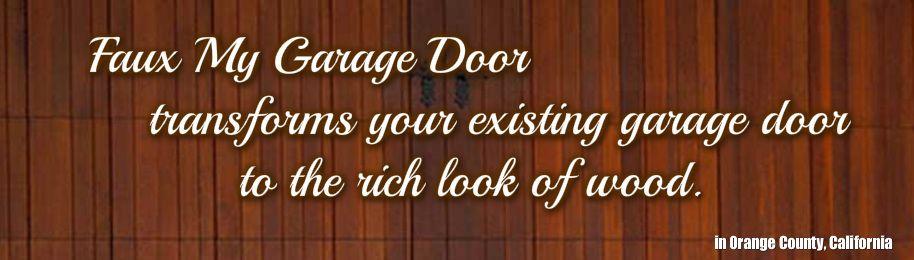 Faux My Garage Door - Faux My Garage Door