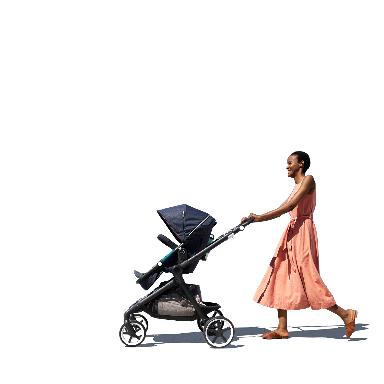 Evenflo Gold Car seat and stroller, Stroller, Evenflo