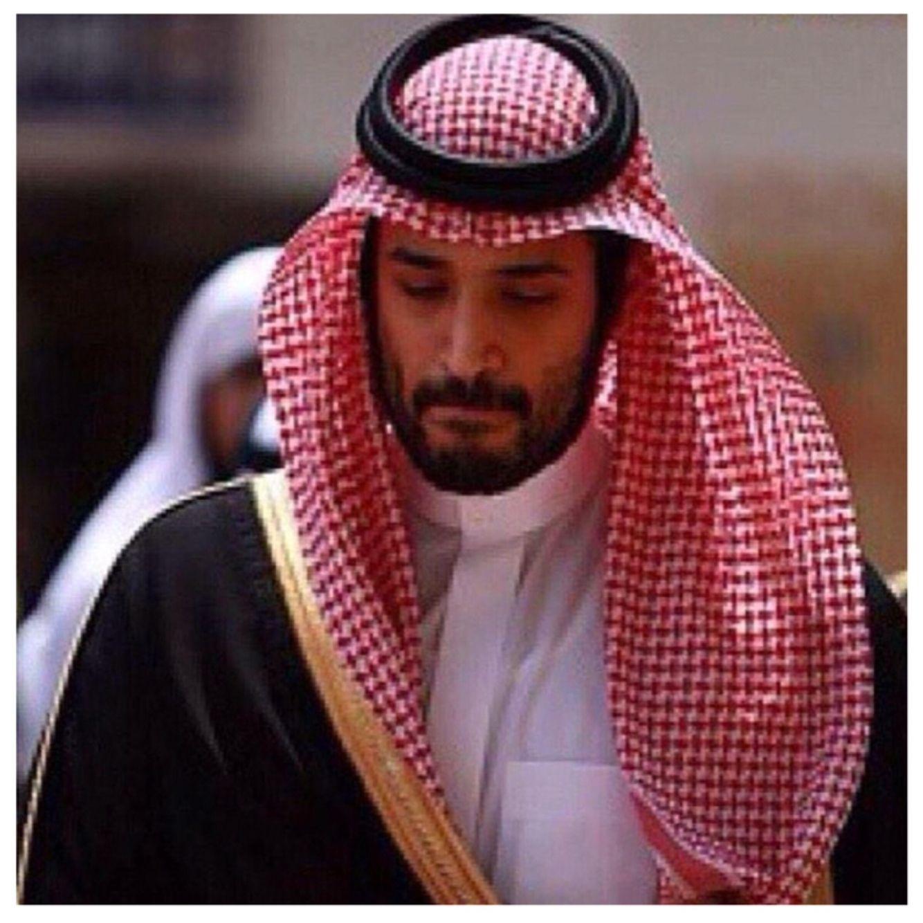 Mohammed Bin Salman Saudi Men Hair Wrap Scarf National Day Saudi