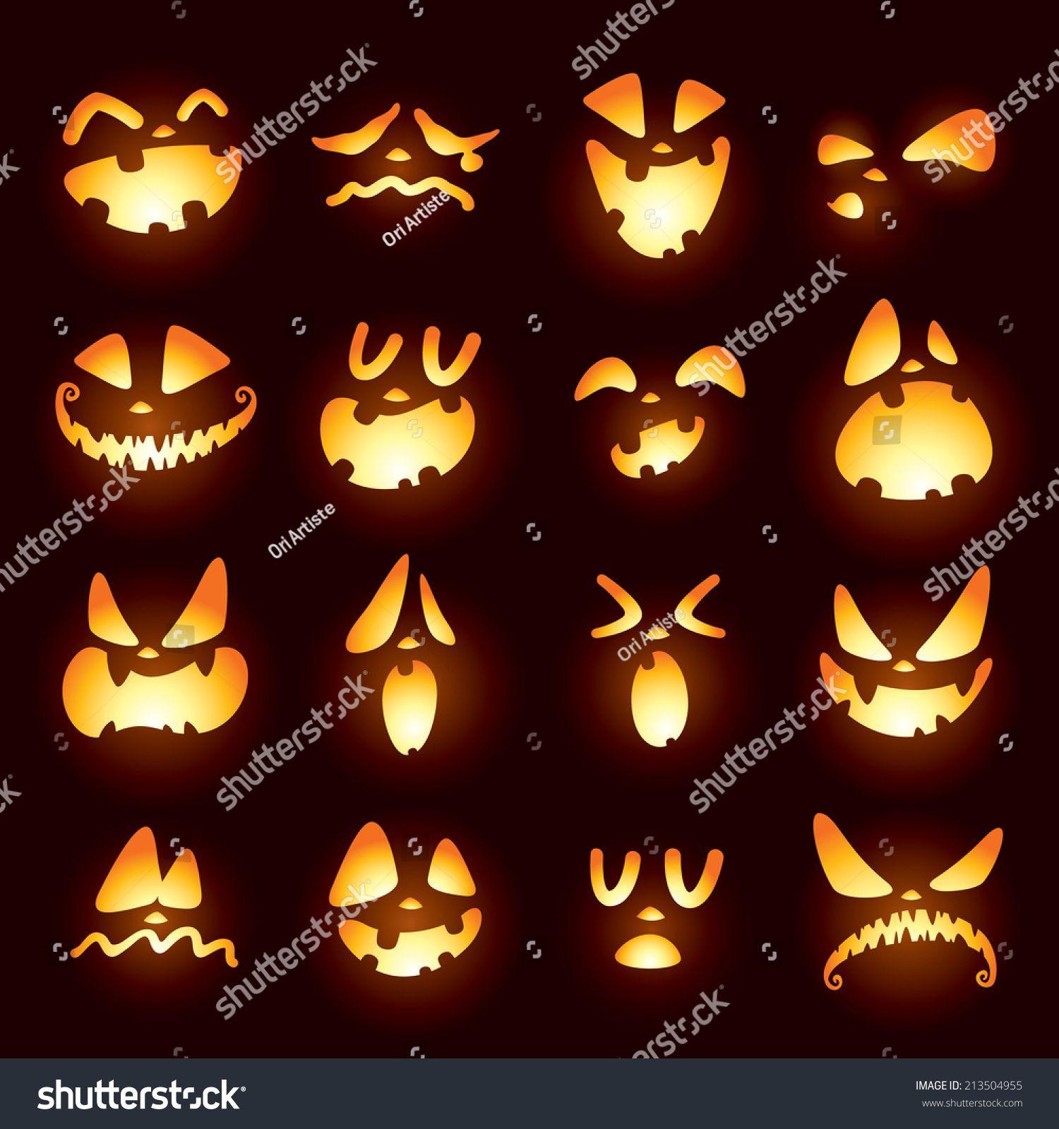 jack o lantern faces halloween pinterest halloween halloween ideen und halloween k rbis. Black Bedroom Furniture Sets. Home Design Ideas