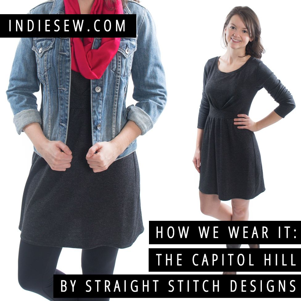 How we wear it capitol hill by straight stitch designs straight