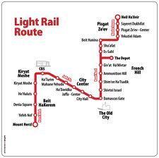 Israel Jerusalem light rail Route | Books Worth Reading | Pinterest ...