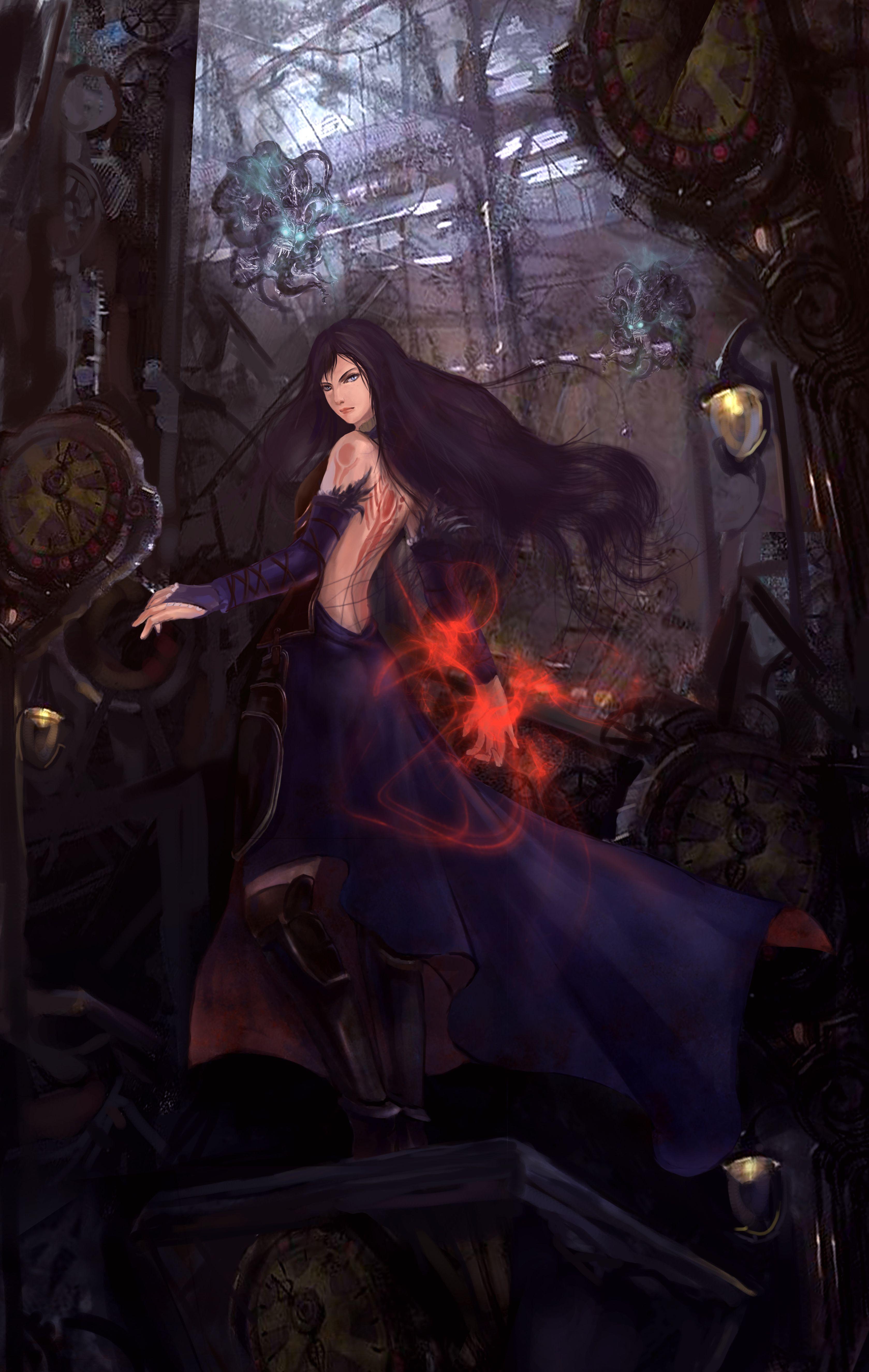 Pinterest Anime Art Girl Art Fantasy Art
