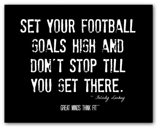 Superior This Series Of Football Quotes And Inspirational Football Posters Are  Intended To Motivate You To Dream Big And Achieve Your Ultimate Football  Goals.
