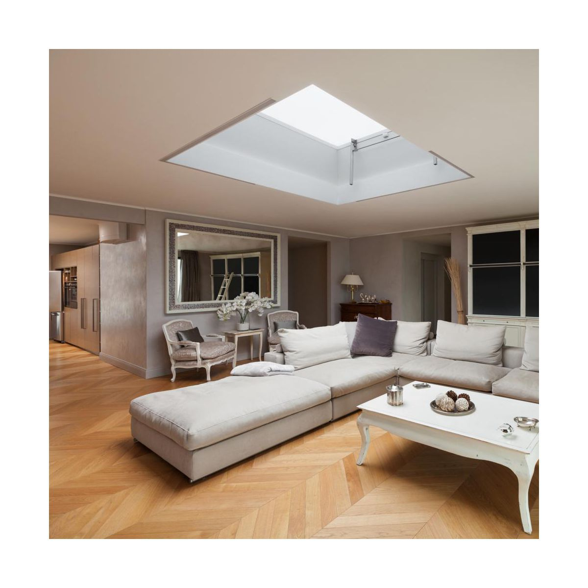 Podloga Dab Jodelka Francuska Dlh Deski Podlogowe W Atrakcyjnej Cenie W Sklepach Leroy Merlin Room Living Room