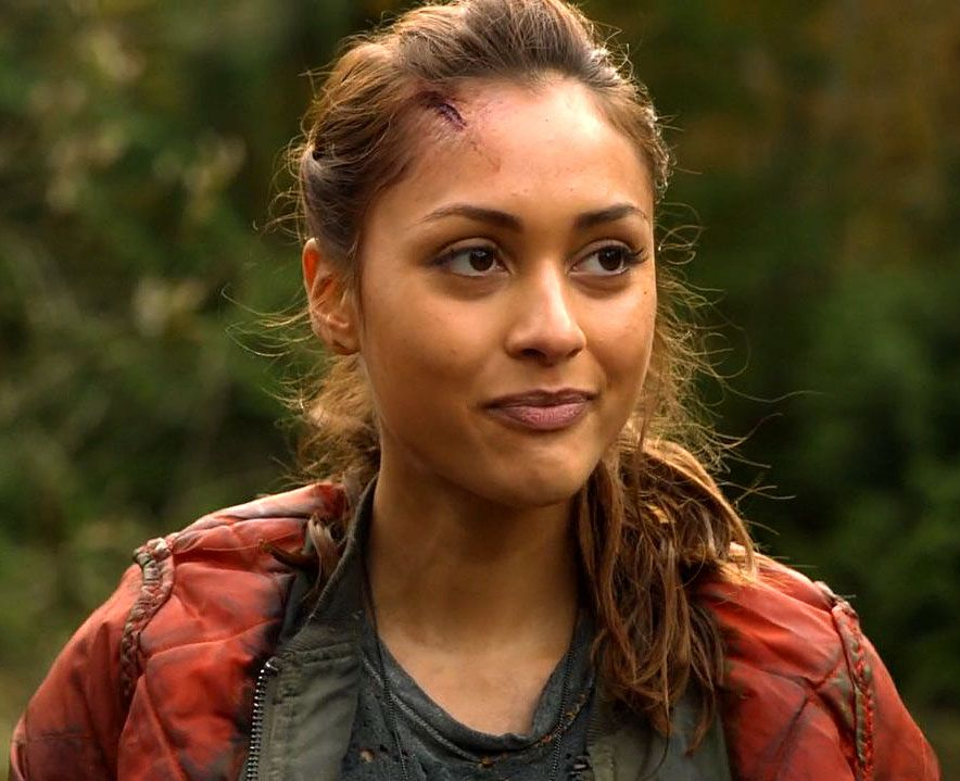 raven reyes ponytail - Google Search   The 100   The 100