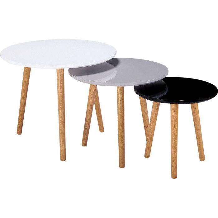Phillipston 3 Piece Nest Of Tables Decoracao Sala Estar