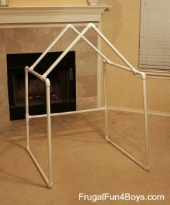 Build a PVC Pipe Play Tent/Fort & Build a PVC Pipe Play Tent/Fort | Play fort Pvc pipe and Tents