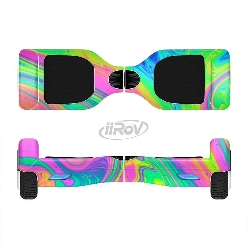 The Neon Color Fushion V3 Full Body Skin Set For The Smart Drifting Supercharged Iirov Hoverboard From Designskinz Hov Hoverboard Girl Hoverboard Neon Colors