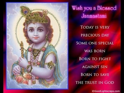 Jaya Janardhana Krishna Radhika Pathe Janmashtami Greetings Janmashtami Wishes Happy Janmashtami
