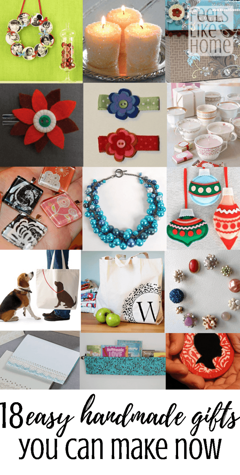 Easy Diy Handmade Christmas Gifts For Friends Or Family These Unique And Beautifu Christmas Gifts For Friends Easy Handmade Gifts Christmas Gift You Can Make