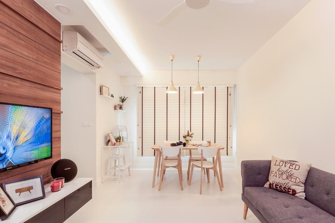 Qanvast | Fernvale St | 3-Room | 120m2 | $26,000 | Icon Interior Design