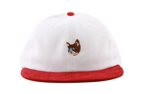 865afcf7fdf KILL CAT SNAPBACK RED WHITE - Golf Wang