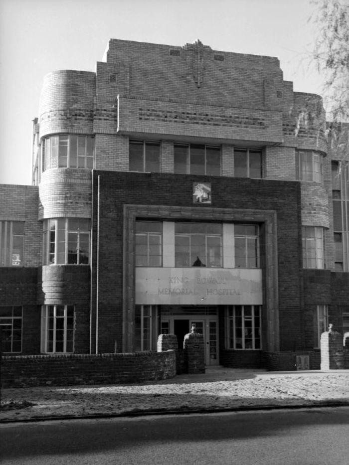 Art Deco Buiding, King Edward Memorial Hospital for Women, c.1939, Australia.