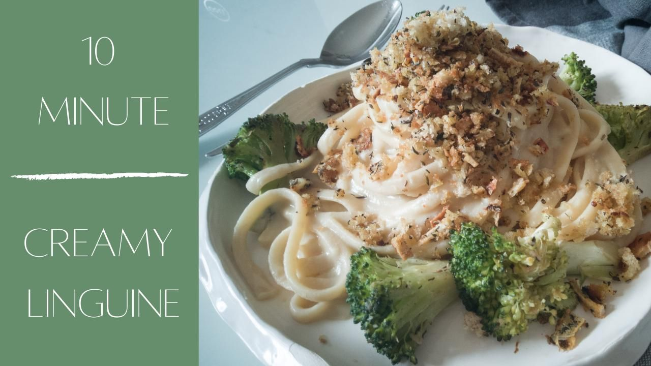 Hi friends, this is a super tasty way to enjoy pasta. Very easy to make with only a few ingredients. Let me know what you enjoyed about it and what swaps you made. This recipe is plant-based as always xx #plant-based #lowcaloriemeals #lowcalorierecipe #veganrecipes #veganlinguine #15minutemeals #veganpastarecipe #veganprotein #